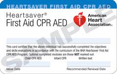 Rancho Cordova CPR & First Renewal Course