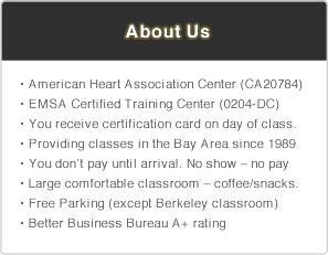 AboutUS final Sacramento BLS, ACLS, CPR, & First aid Classes